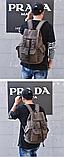 Рюкзак з лямками мішковина, фото 4