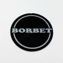 Логотип для колесных колпачков на диски  Borbet (56 мм)