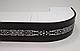 Декоративная лента на потолочный карниз КСМ ( 70 мм)Бленда Виктория Венге Серебро, фото 3