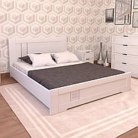 Кровать деревянная двуспальная Зоряна