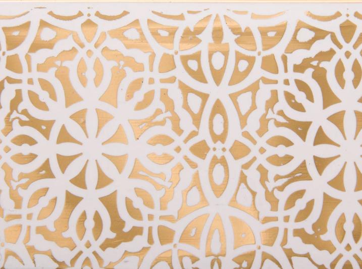 Декоративная лента на потолочный карниз ОМ 50мм Бленда Ажур