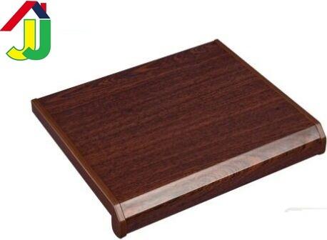 Підвіконня Danke Червоне Дерево Глянець 200 мм вологостійкий, стійкий до подряпин, для вікон