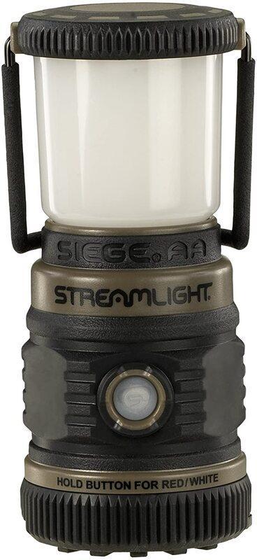 Оригинал Полеовой фонарь Streamlight SIEGE® AA Outdoor Lantern, Coyote Ultra-Compact Floating 44941 Койот (Coyote)