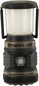 Оригинал Полеовой фонарь Streamlight SIEGE AA Outdoor Lantern, Coyote Ultra-Compact Floating 44941 Койот