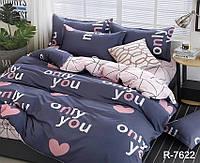 ТМ TAG Комплект постельного белья с компаньоном R7622