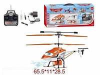 Вертолет на радиоуправлении Литачки  аккумуляторный свет, звук, 3,5 канала, в коробке 65х11х28