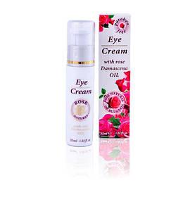 Крем для кожи вокруг глаз с маслом из дамасской розы Rose Natural of Bulgaria