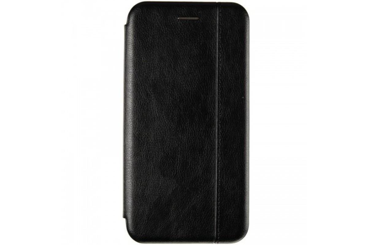 Book Cover Leather Gelius for Xiaomi Redmi 9 Black