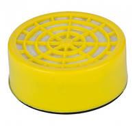 Фильтр угольный для респиратора, Sigma, 9422521, диаметр 6,5см