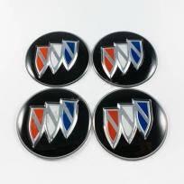 Наклейки для колесных колпачков в легкосплавные диски с логотипом   Buick (65 мм)