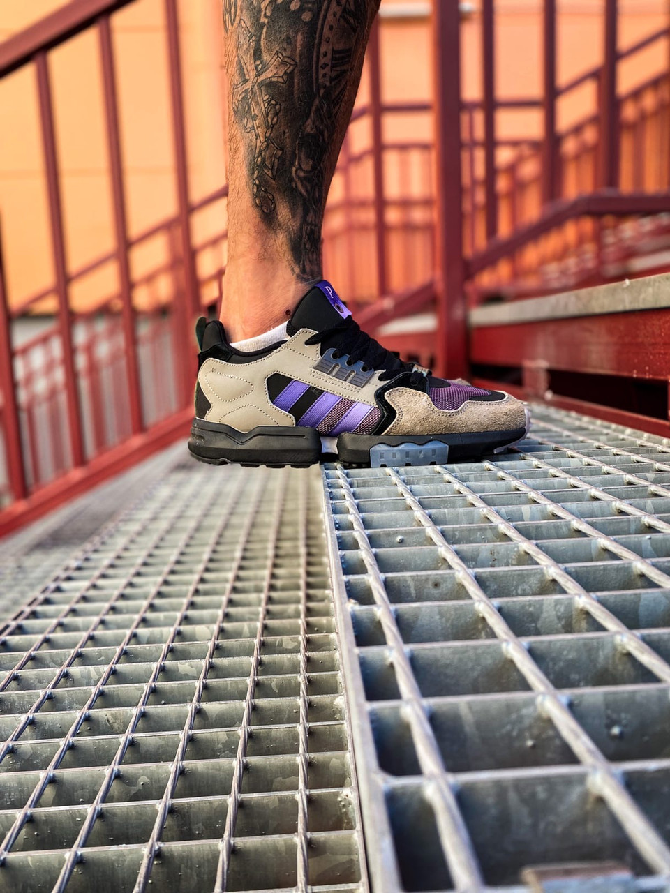 Кросівки Adidas Torsion Violet