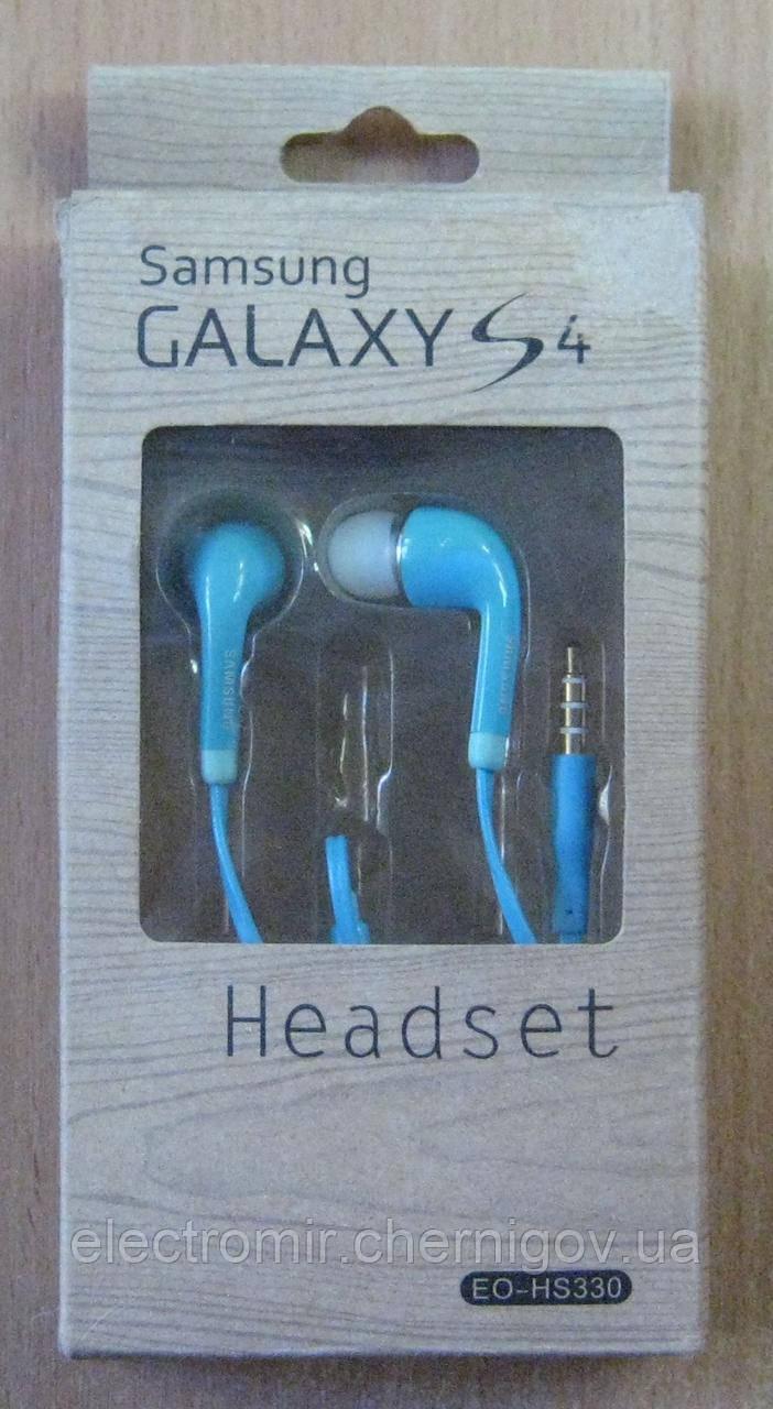 Гарнитура Samsung EO-HS330 (голубая)