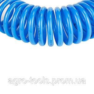 Шланг спиральный полиуретановый (PU) 5м 5.5×8мм SIGMA (7012011), фото 2