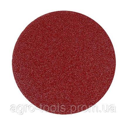 Шлифовальный круг без отверстий на липучке 10шт Ø125мм зерно 100 SIGMA (9121101), фото 2