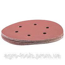 Шлифовальный круг 6 отверстий Ø150мм P320 (10шт) SIGMA (9122331), фото 3