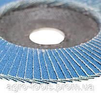 Круг лепестковый торцевой Т29 (конический) ZA Ø125мм P100 SIGMA (9173551), фото 3