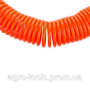 Шланг спиральный полиэтиленовый (PЕ) 15м 5.5×8мм GRAD (7011335), фото 2