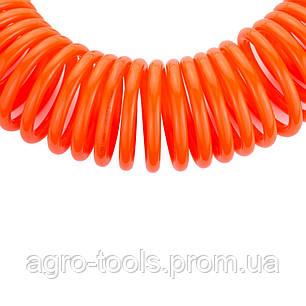 Шланг спиральный полиэтиленовый (PЕ) 10м 6.5×10мм GRAD (7011375), фото 2
