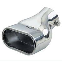 Насадка на глушитель НГ-0054, угол, внутр.d 64мм/дл. 190 мм /внеш.  69*117мм (НГ-0054)