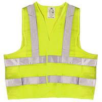 Жилет безопасности светоотражающий (yellow) 116 Y XL (ЖБ003), фото 1