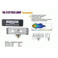 Фары дополнительные  NS-2177 B-C H3/12 В/55W/166*50mm (NS-2177 B-C)