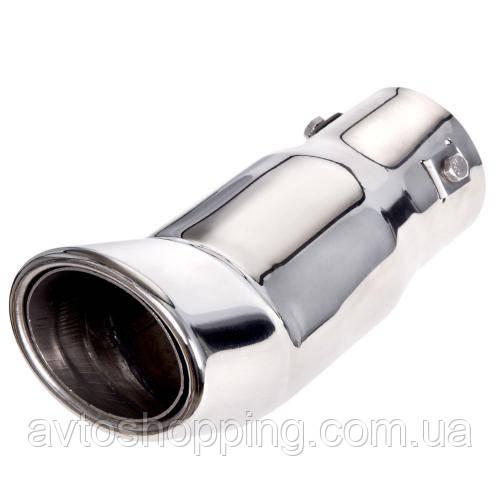 Насадка на глушитель НГ-0428, угол, внутр.d 64мм/дл. 191мм/внеш. 89*64мм (НГ-0428)
