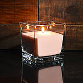 Персиковые насыпные свечи 1 кг + 1 м фитиля