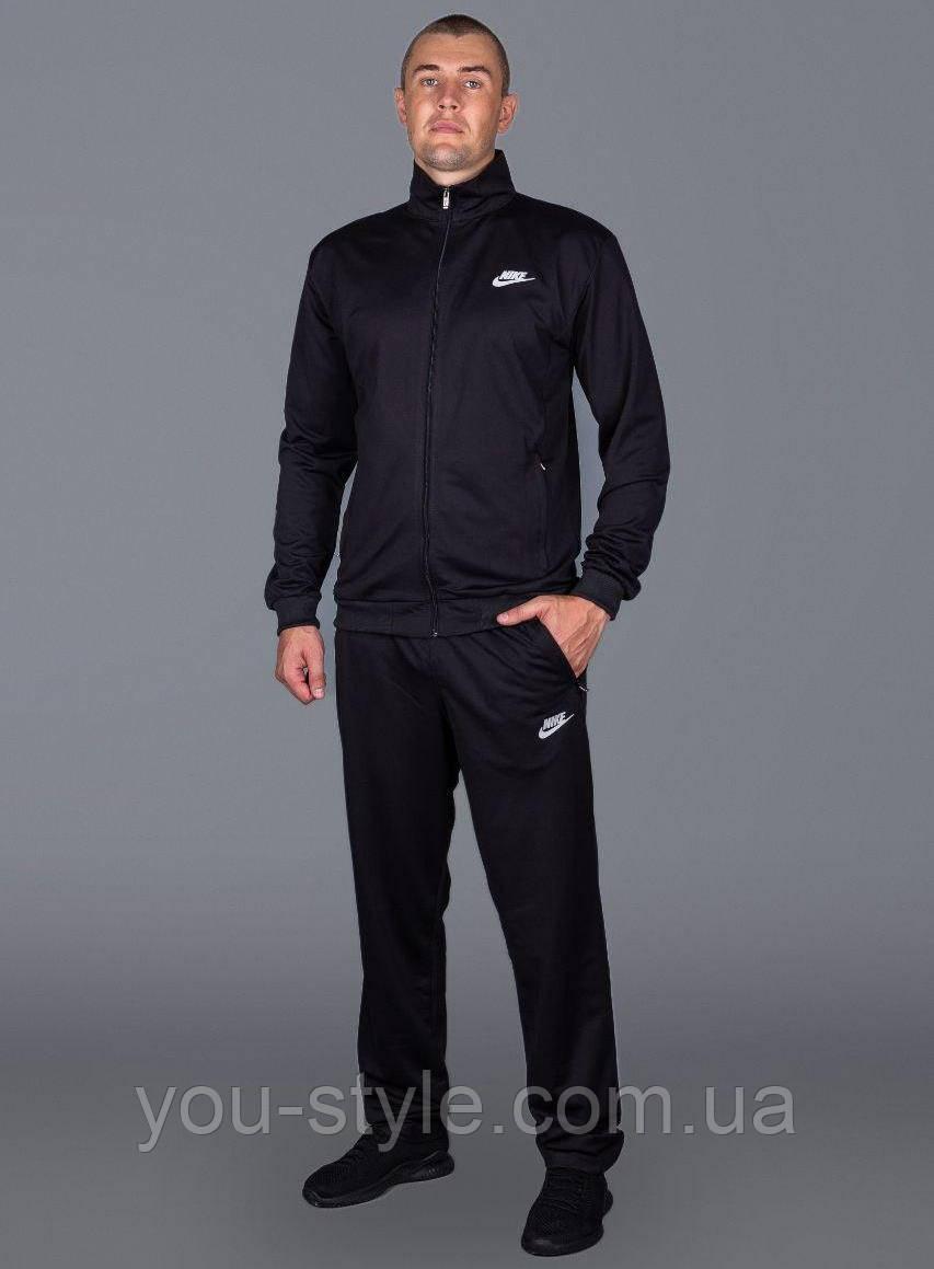 Спортивний костюм Nike Батал 5462 Чорний