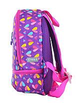 Рюкзак детский YES K-21 Hearts, 27*21.5*11.5 555314, фото 2
