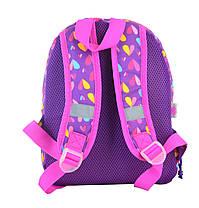 Рюкзак детский YES K-21 Hearts, 27*21.5*11.5 555314, фото 3
