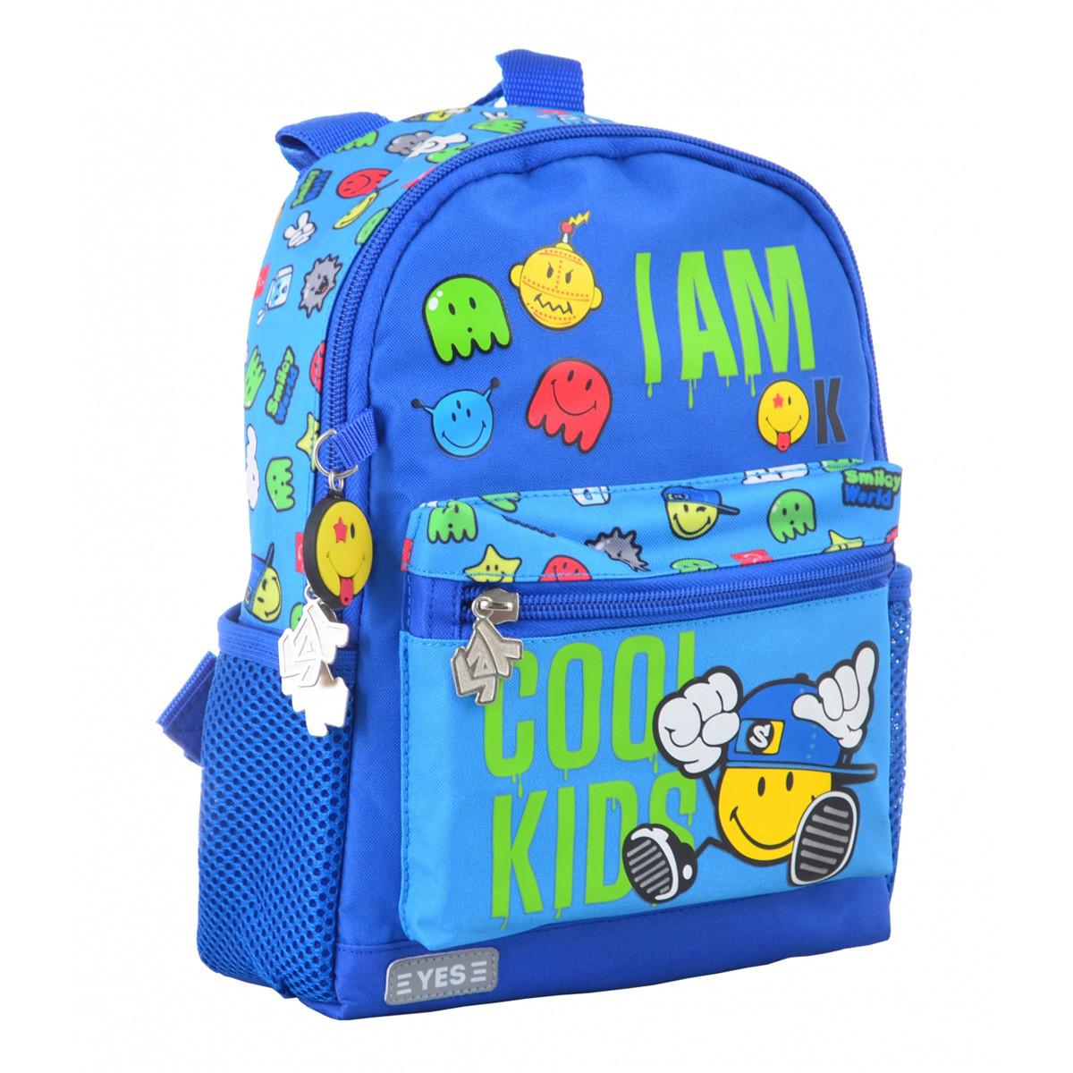 Рюкзак детский YES K-16 Cool kids, 22.5*18.5*9.5 555072