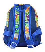 Рюкзак детский 1 Вересня K-16 Turtles, 22.5*18.5*9.5 554766, фото 3