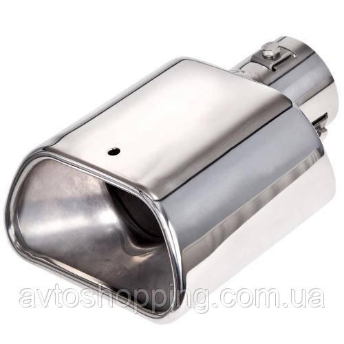 Насадка на глушитель НГ-0267,  внутр.d 56мм/дл. 165мм /внеш. 140*71мм (НГ-0267)