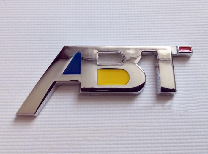 Шильдик напис ABT на кришку багажника AUDI