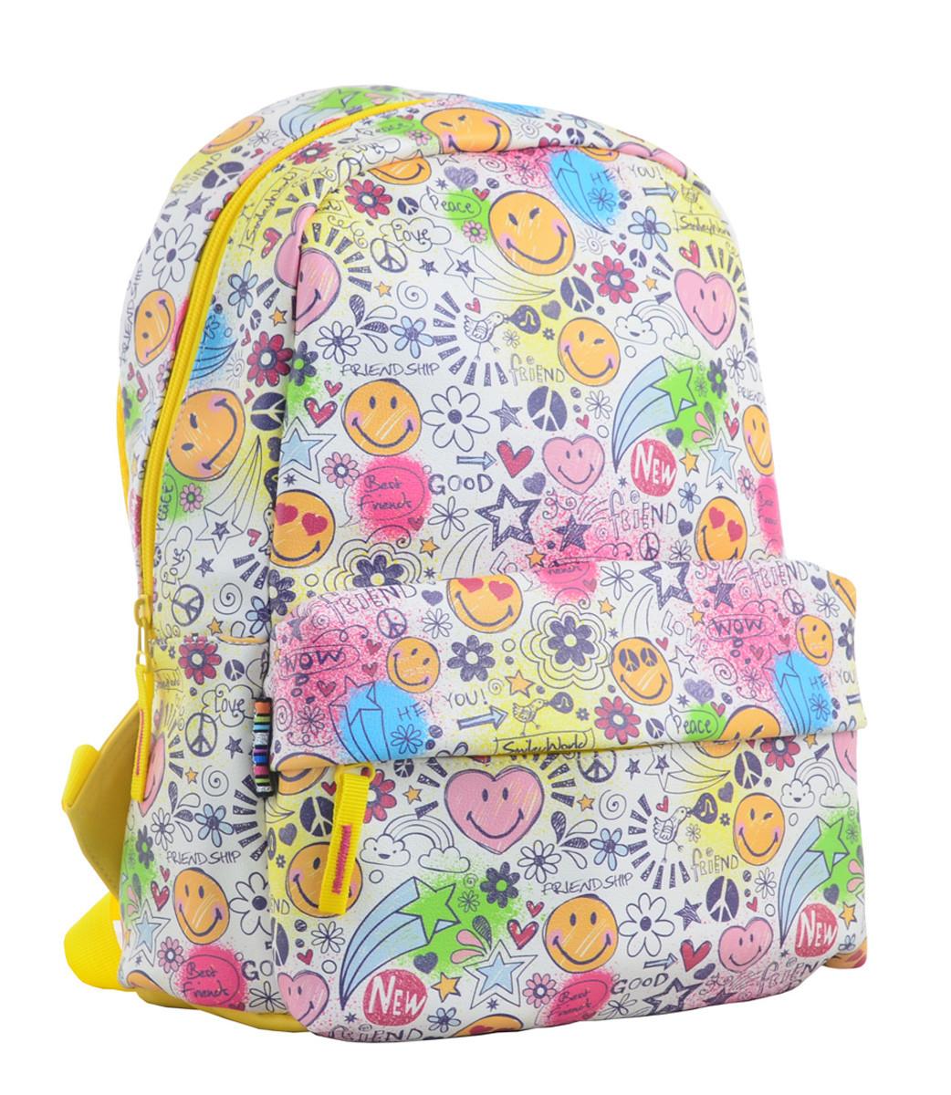 Рюкзак молодежный YES ST-28 Smile, 34*24*13.5 554942