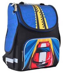 Рюкзак школьный каркасный Smart PG-11 Car, 34*26*14 554545