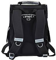Рюкзак школьный каркасный Smart PG-11 Race car, 34*26*14 554513, фото 3