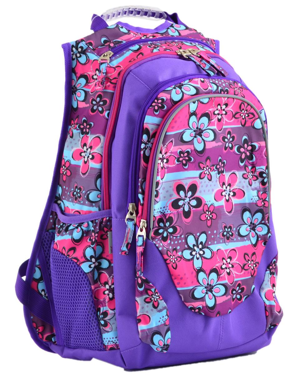 Рюкзак молодежный YES Т-27 Wildflowers, 46*37*20 554936