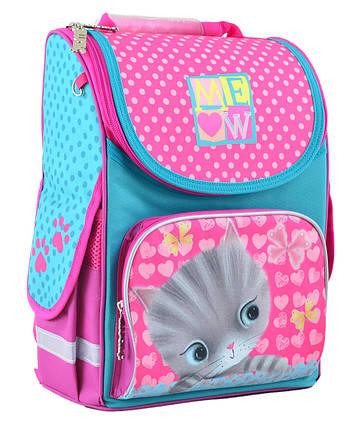 Рюкзак школьный каркасный 1 Вересня H-11 Cat, 33.5*26*13.5 555294, фото 2