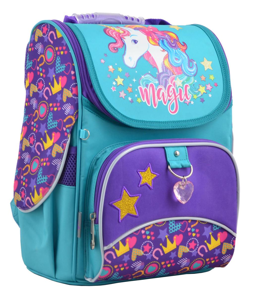 Рюкзак школьный каркасный 1 Вересня H-11 Unicorn, 33.5*26*13.5 555198