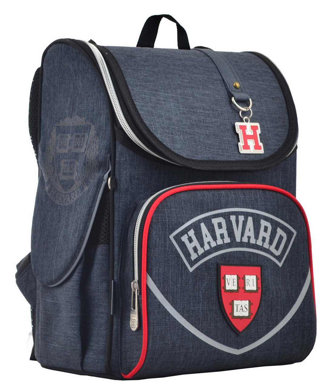 Рюкзак школьный каркасный YES H-11 Harvard, 33.5*26*13.5 555136