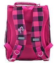 Рюкзак школьный каркасный 1 Вересня H-11 Barbie red, 33.5*26*13.5 555156, фото 3