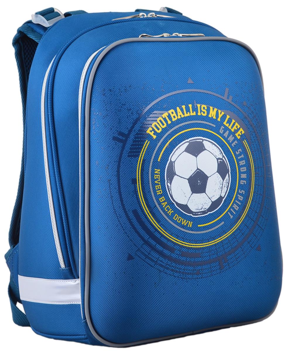 Рюкзак школьный каркасный 1 Вересня H-12 Football, 38*29*15 554593
