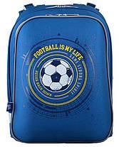 Рюкзак школьный каркасный 1 Вересня H-12 Football, 38*29*15 554593, фото 2
