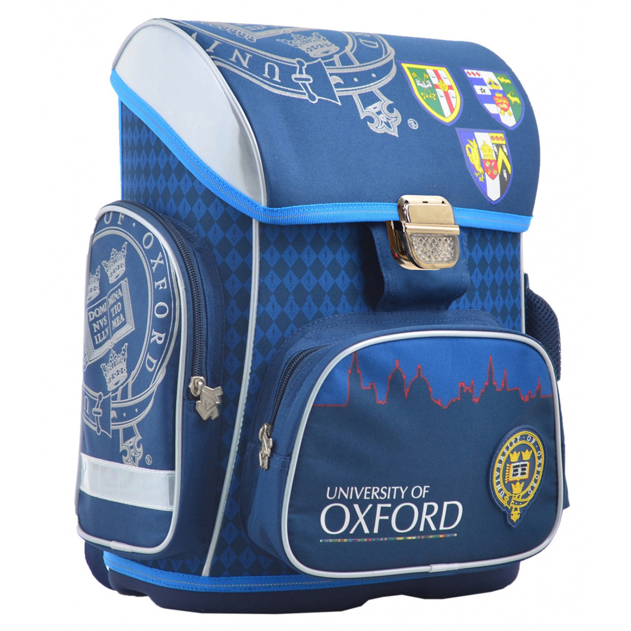 Рюкзак школьный каркасный YES H-26 Oxford, 40*30*16 555086