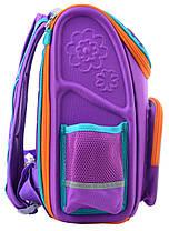 Рюкзак школьный каркасный YES H-17 Flowers, 34.5*28*13.5 555102, фото 2