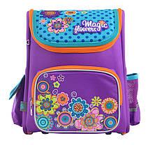 Рюкзак школьный каркасный YES H-17 Flowers, 34.5*28*13.5 555102, фото 3