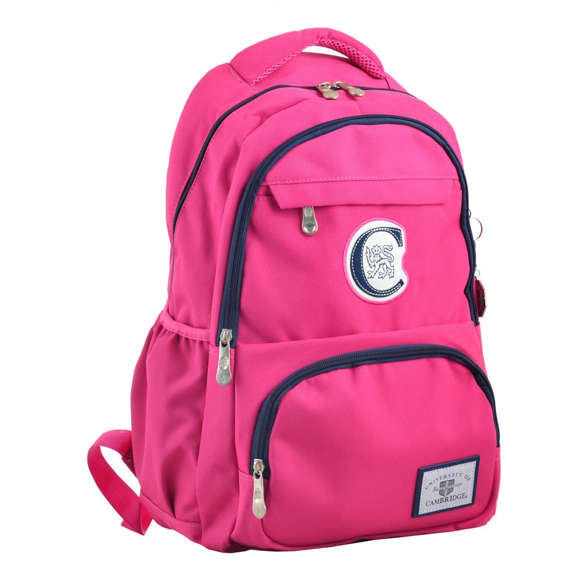 Рюкзак молодежный YES CA 151, 48х30х15, розовый 555752