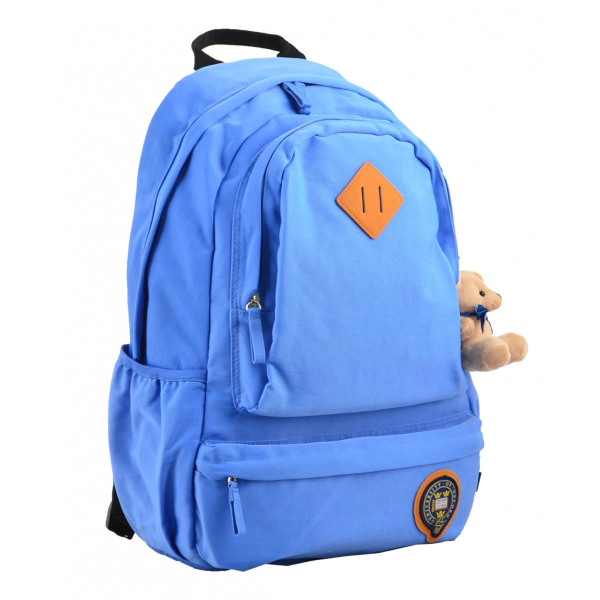 Рюкзак молодежный YES OX 353, 46*29.5*13.5, голубой 555626