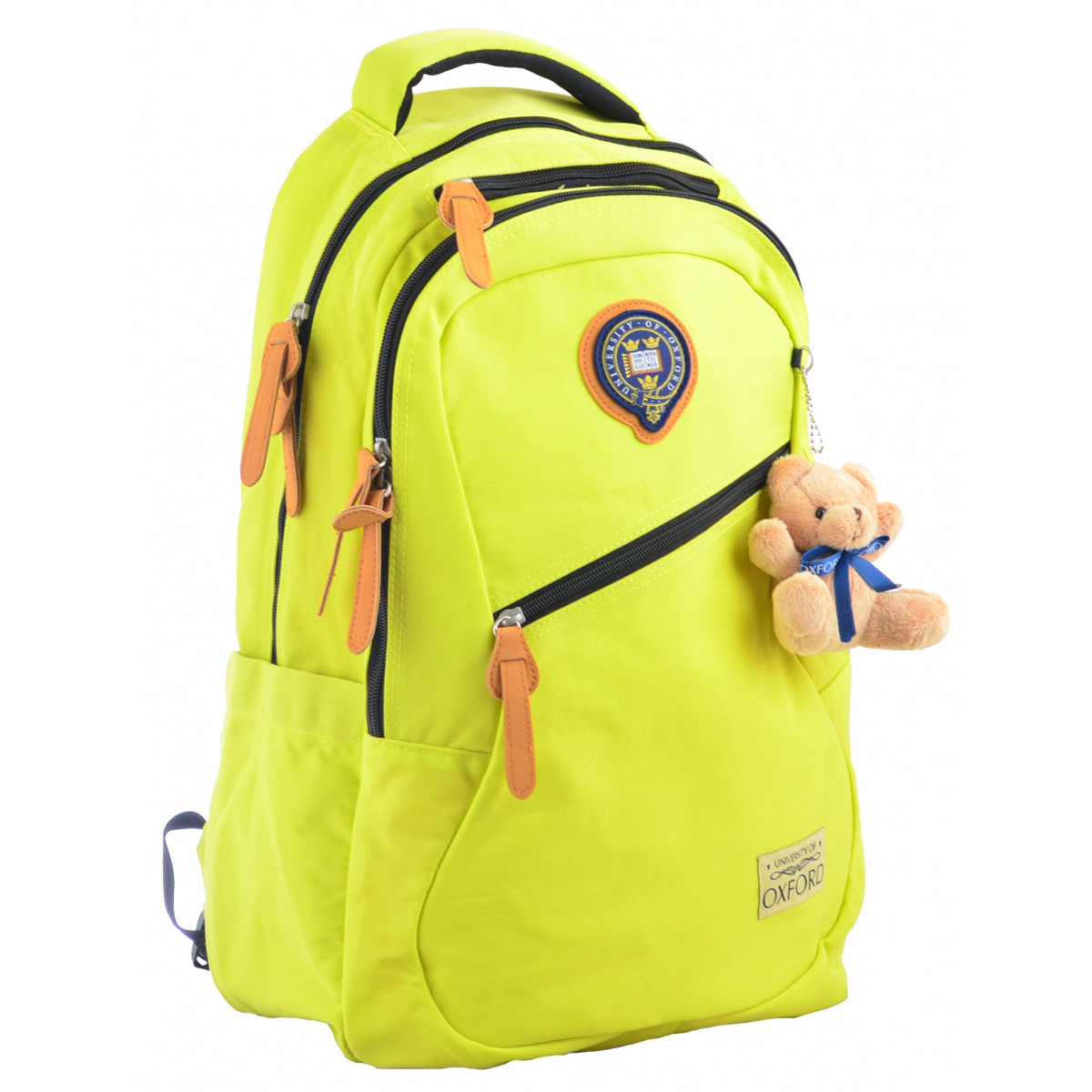 Рюкзак молодежный YES OX 405, 47*31*12.5, желтый 555685